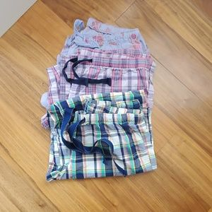 3 pair of lounge pajama pants